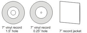 Start your order graphic design templates templates for 7 inch pressed vinyl records and packaging maxwellsz